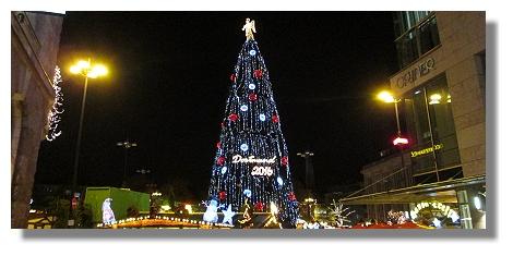 Dortmund Weihnachtsbaum.Der Dortmunder Weihnachtsbaum